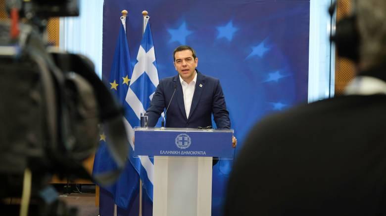 Τσίπρας: Συμφωνία με την EXXON MOBIL για έρευνες στην Κρήτη