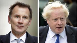 Βρετανία: Ξεκινά η «μάχη» μεταξύ Τζέρεμι Χαντ και Μπόρις Τζόνσον για τη Ντάουνινγκ Στριτ