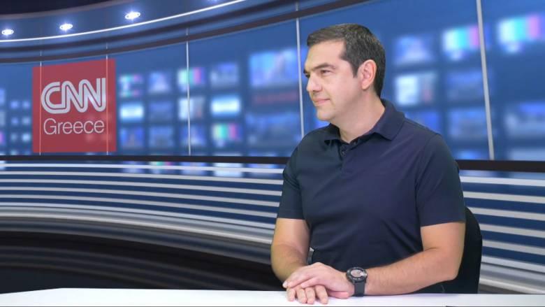 Αλ. Τσίπρας στο CNN Greece:  Κρύβεται αίμα πίσω από τις μεταρρυθμίσεις Μητσοτάκη (vid)