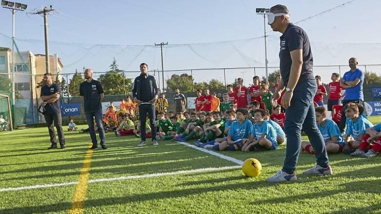 Γκολ από τις Αθλητικές Ακαδημίες ΟΠΑΠ στο τουρνουά αθλητικών αξιών - Πανηγυρικό κλείσιμο της σεζόν