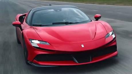Αυτοκίνητο: Δείτε πως λειτουργεί το υβριδικό σύστημα των 1.000 ίππων της Ferrari SF90 Stradale
