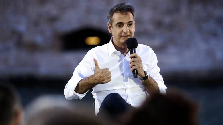 Μητσοτάκης: Ξανά εκλογές το Δεκαπενταύγουστο εάν δεν υπάρξει αυτοδυναμία