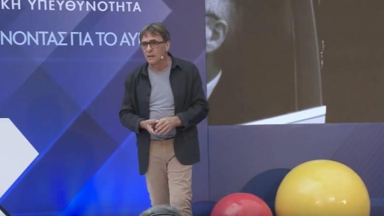 «Γίνεται!»: Η ομιλία του Πίτερ Οικονομίδη σε εκδήλωση του προγράμματος ΟΠΑΠ Forward