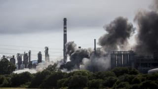 Ισπανία: Τεράστιο νέφος καπνού μετά από πυρκαγιά σε εργοστάσιο χημικών