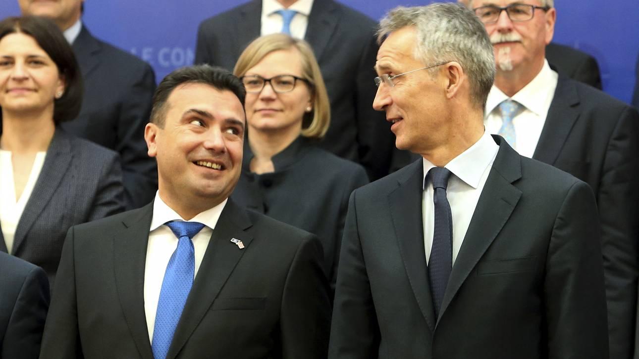 Στόλτενμπεργκ: Πλήρες μέλος του ΝΑΤΟ πριν από το τέλος του έτους η Βόρεια Μακεδονία