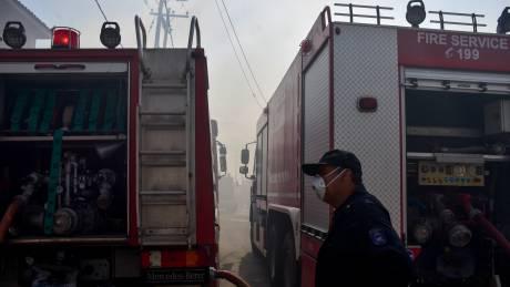 Πυρκαγιά στο Μαρούσι