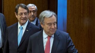Κύπρος: Επιστολή Αναστασιάδη σε Γκουτέρες για την επανέναρξη των συνομιλιών