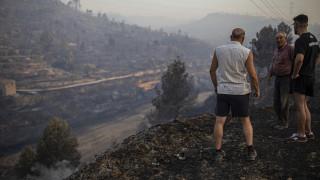 Πύρινη «κόλαση» στην Καταλονία - Εκτός ελέγχου η πυρκαγιά