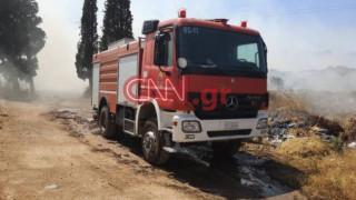 Υπό μερικό έλεγχο η φωτιά στο Λαύριο - Αποχώρησαν τα εναέρια μέσα