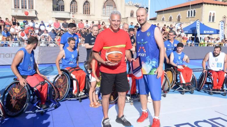 GalisBasketball 3on3: Το μπάσκετ ταξιδεύει στη Ρόδο με τον ΟΠΑΠ