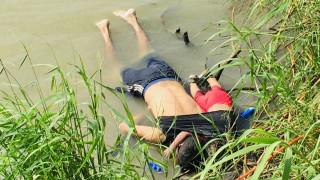 Ελ Σαλβαδόρ: Επαναπατρίστηκαν τα πτώματα πατέρα και κόρης που πνίγηκαν στον Ρίο Γκράντε