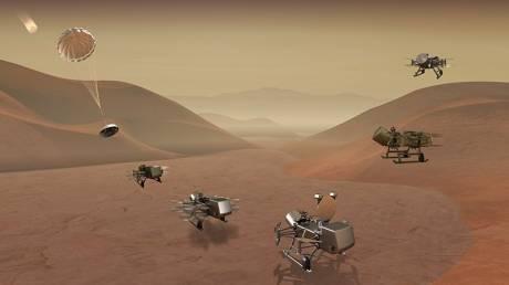 Η NASA στέλνει το drone Dragonfly προς εξερεύνηση του Τιτάνα