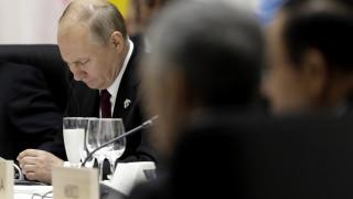 Γιατί ο Βλαντιμίρ Πούτιν έφερε τη δική του κούπα στο δείπνο της G20;