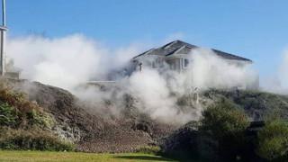 Κρατήρας που εκτόξευε λάσπη έκανε «έξωση» σε οικογένεια στη Νέα Ζηλανδία