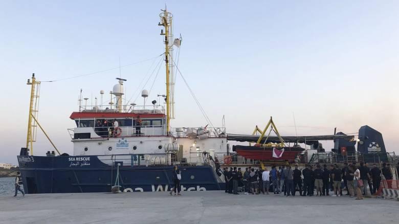 Sea Watch: Έντονες διπλωματικές διαβουλεύσεις για την κατανομή των 40 μεταναστών