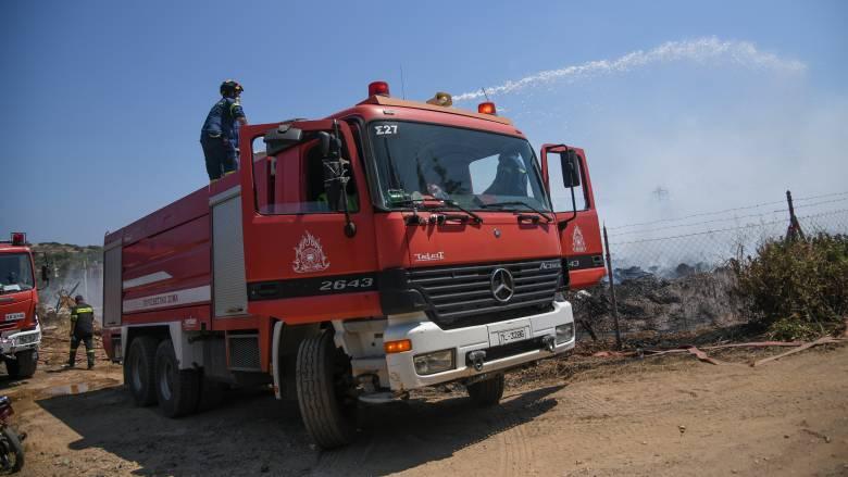 Πολύ υψηλός κίνδυνος πυρκαγιάς για αύριο Δευτέρα