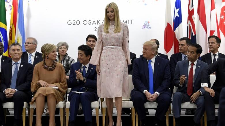 G20: Η... άβολη στιγμή της Ιβάνκα Τραμπ και το βλέμμα της Λαγκάρντ που δεν θα ξεχάσει ποτέ