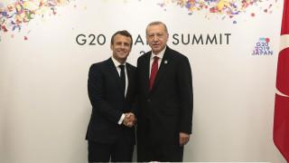 Ερντογάν: Είπα στον Μακρόν ότι δεν μπορεί να μιλάει για την Κύπρο