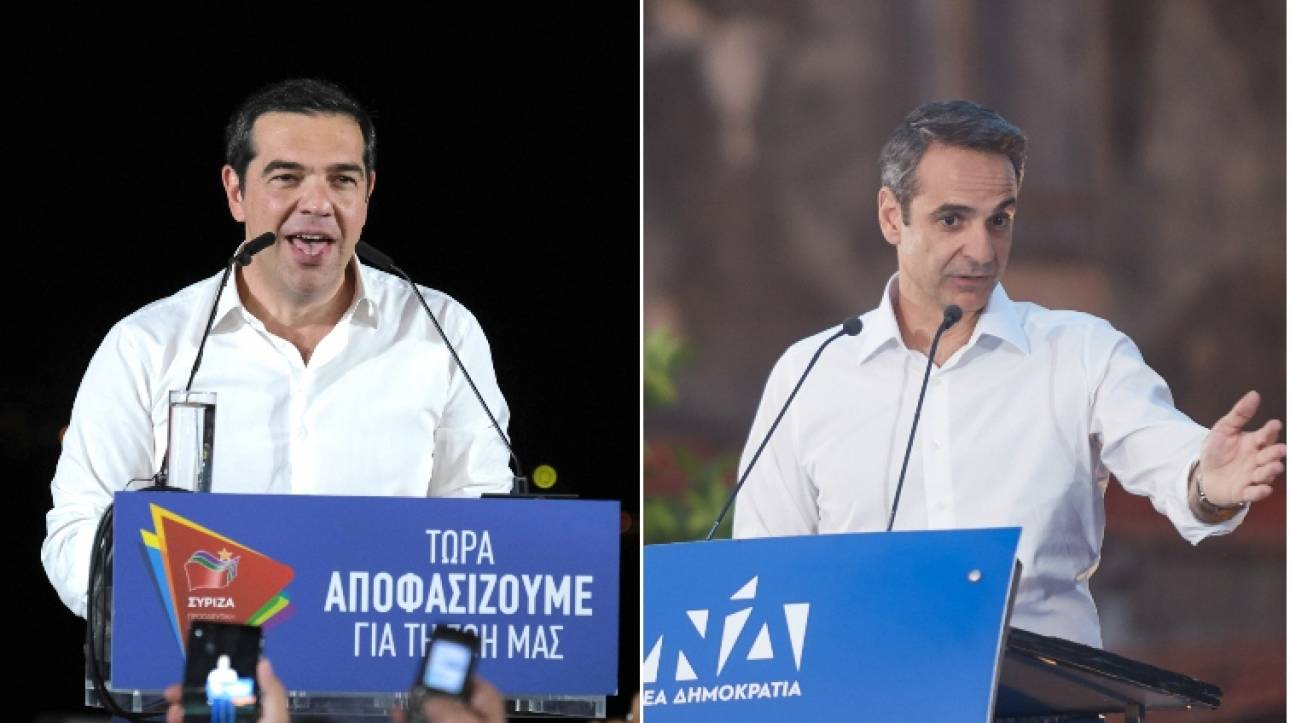 Εκλογές 2019: ΣΥΡΙΖΑ και ΝΔ ρίχνουν όλα τα όπλα στη μάχη