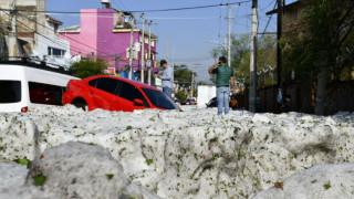 Μεξικό: Χαλάζι δύο μέτρων «έπνιξε» τη Γουαδαλαχάρα