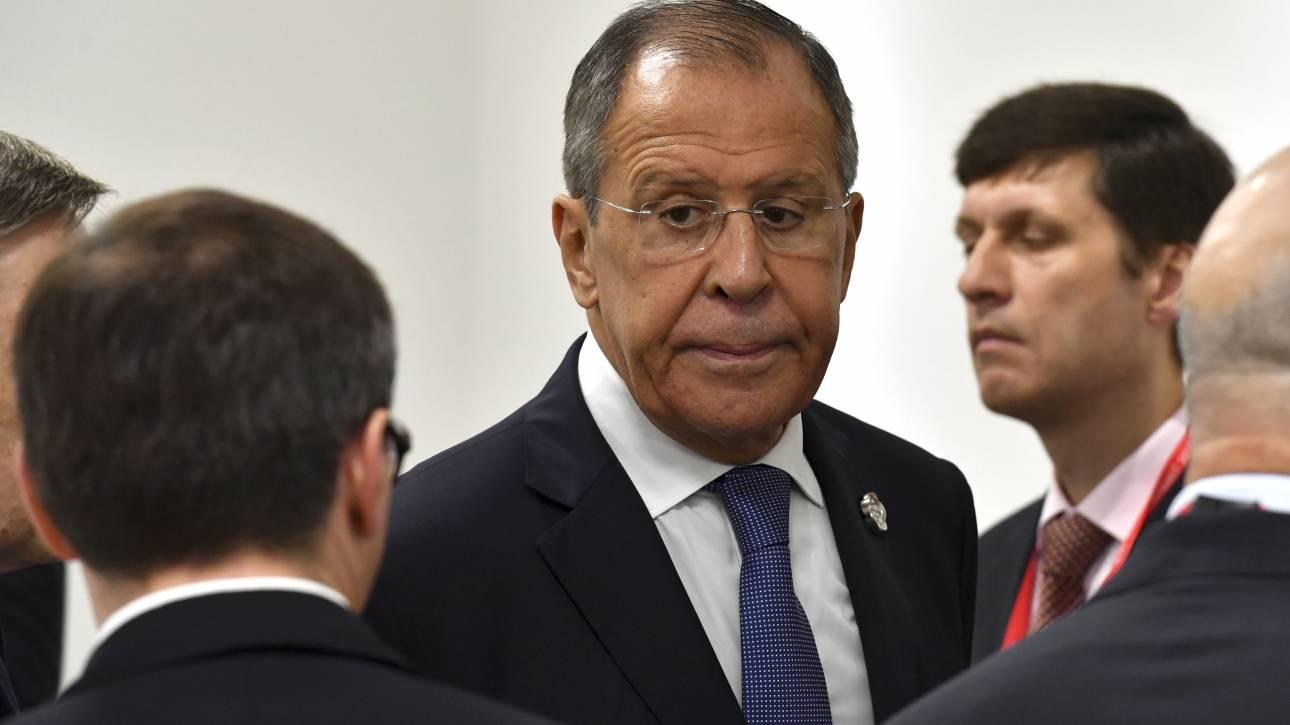 Λαβρόφ: Η Ρωσία δεν δέχεται αλλαγή βάσης λύσης του Κυπριακού