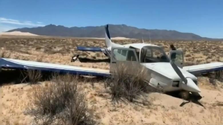 Καρέ-καρέ η αναγκαστική προσγείωση αεροσκάφους μέσα από το πιλοτήριο