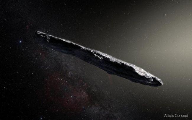 OumuamuaκαλλιτεχνικήαπεικόνισηΠηγήESO M.Kornmesser