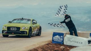 Η Bentley Continental GT είναι το πιο γρήγορο μοντέλο παραγωγής στο διάσημο Pikes Peak