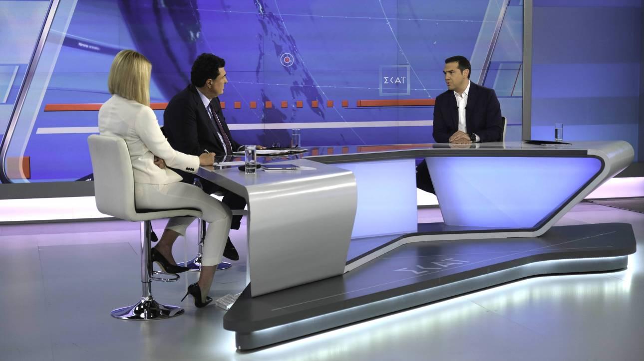 Συνέντευξη Τσίπρα στον ΣΚΑΪ: Τα «καρφιά» σε Κοσιώνη - Παπαχελά