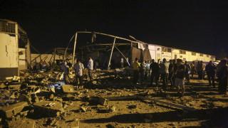 Λιβύη: Δεκάδες νεκροί και τραυματίες από αεροπορική επιδρομή σε κέντρο κράτησης προσφύγων
