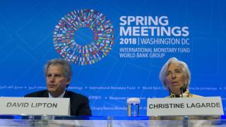 Ο Ντέιβιντ Λίπτον αναλαμβάνει προσωρινά τα «ηνία» του ΔΝΤ