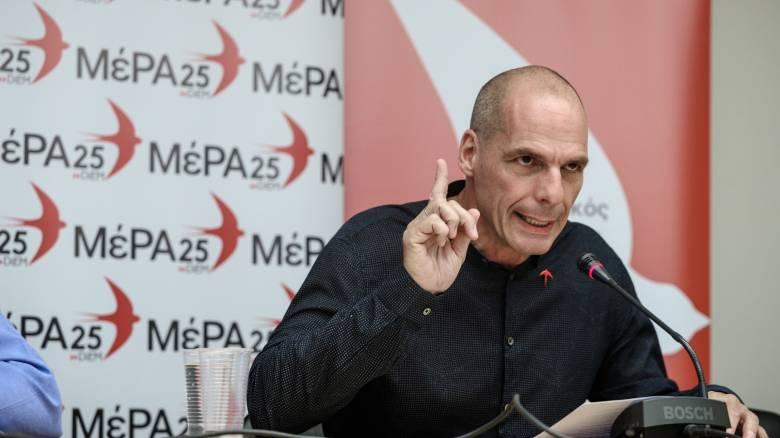 Βαρουφάκης σε Τσίπρα: Για μια φορά συμφωνούμε, λάθος που επέλεξα να τον εμπιστευτώ