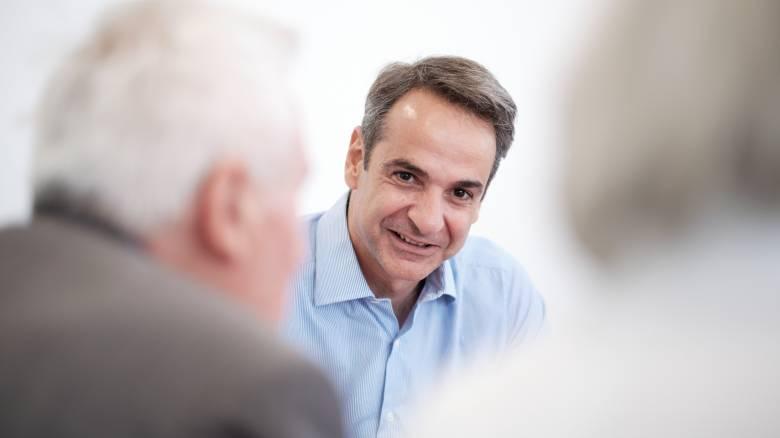 Εκλογές 2019 - Κ. Μητσοτάκης: «Ντιμπέιτ» στον Alpha με Αντώνη Σρόιτερ και εννέα δημοσιογράφους