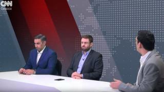 Αντιλογίες: Κ. Ζαχαριάδης και Σ. Ιωαννίδης στο στούντιο του CNN Greece