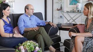 Κωστής Χατζηδάκης - Πόπη Καλαϊτζή: Μου άνοιξαν το σπίτι τους και την καρδιά τους
