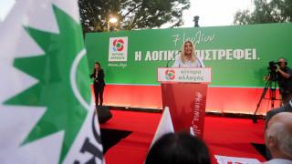 Εκλογές 2019: «Δεν είναι λύση η επιστροφή στη δεξιά», τόνισε η Γεννηματά
