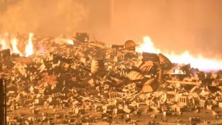 ΗΠΑ: Καταστράφηκαν 45.000 τόνοι... ουίσκι από κεραυνό