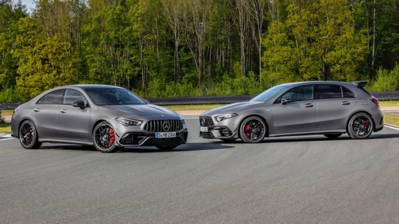 Οι νέες Mercedes-AMG A 45 και CLA 45 παρουσιάστηκαν στο Goodwood