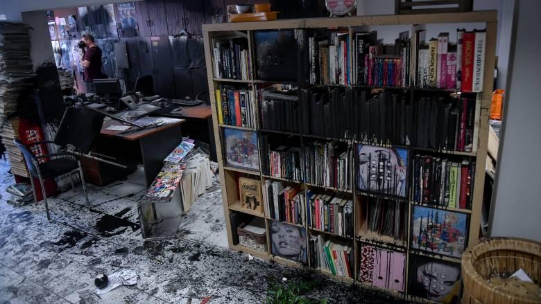 ΝΔ για την επίθεση στην Athens Voice: Οι πολίτες δεν τρομοκρατούνται, ούτε εκφοβίζονται