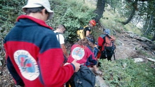 Επιχείρηση διάσωσης γυναίκας στον Όλυμπο