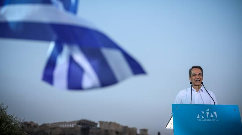 Μητσοτάκης: Στις 7 Ιουλίου ανατέλλει η φωτεινή Ελλάδα που αξίζουμε