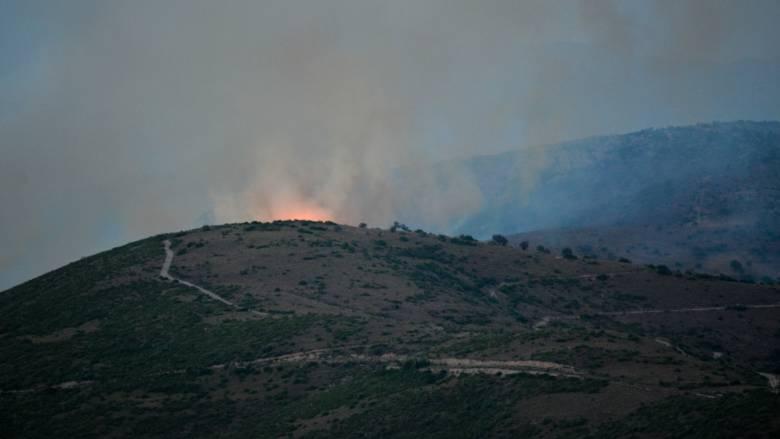 Νύχτα αγωνίας στην Εύβοια - Συνεχίζεται η μάχη με τις φλόγες