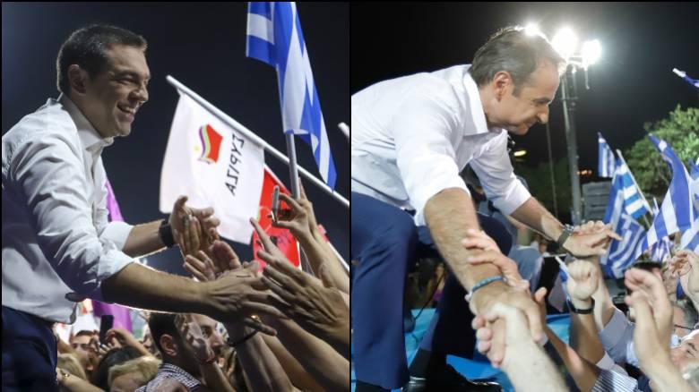 Εκλογές 2019: Οι προετοιμασίες Μητσοτάκη και η «μάχη» της επόμενης μέρας για τον Τσίπρα