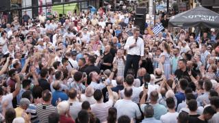 Μητσοτάκης: Την Κυριακή οι κάλπες πρέπει να γεμίσουν με εκατομμύρια γαλάζια ψηφοδέλτια