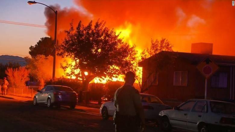 Ισχυρός σεισμός 7,1 Ρίχτερ στην Καλιφόρνια – Τραυματισμοί και φωτιές