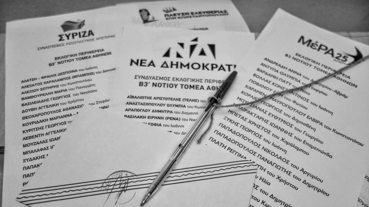 Αποτελέσματα Εκλογών 2019 LIVE: Δυτικός Τομέας Αθηνών