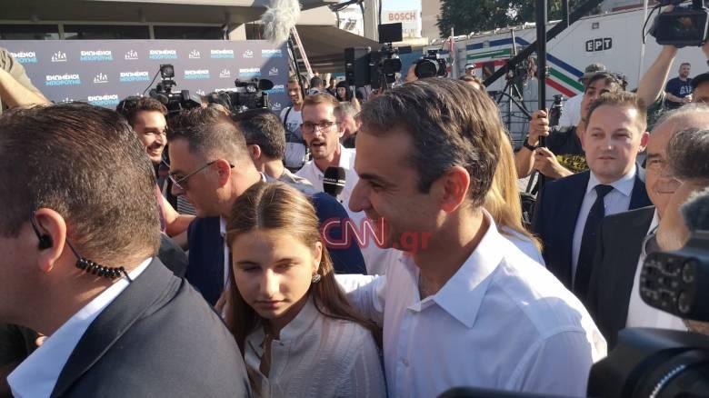 Εκλογές 2019: Ο Μητσοτάκης έφτασε στα γραφεία της Πειραιώς