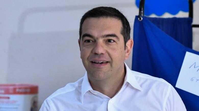 Αποτελέσματα εκλογών 2019: Live οι δηλώσεις του Αλέξη Τσίπρα