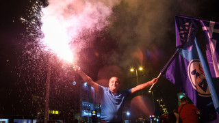 Νέα Δημοκρατία: Πανηγυρικό το κλίμα στην πλατεία Κλαυθμώνος