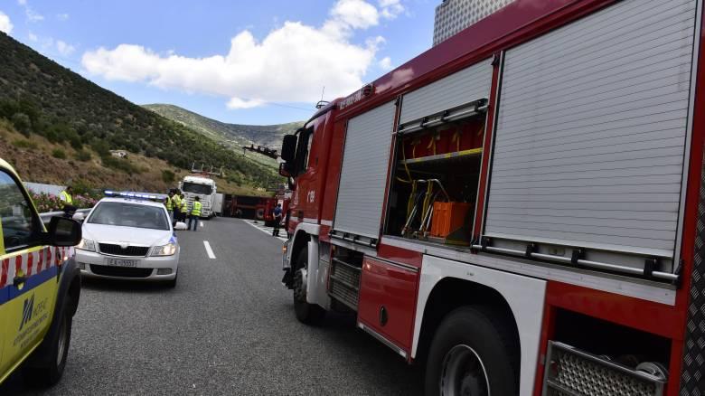 Κρήτη: Τροχαίο δυστύχημα με δύο νεκρούς και μία σοβαρά τραυματισμένη στο Ηράκλειο